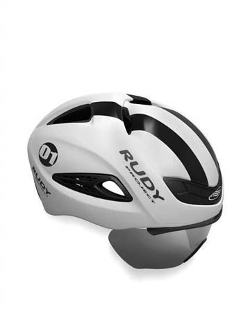 Kask RUDY PROJECT BOOST 01 + SZYBA BLACK/WHI MATTE