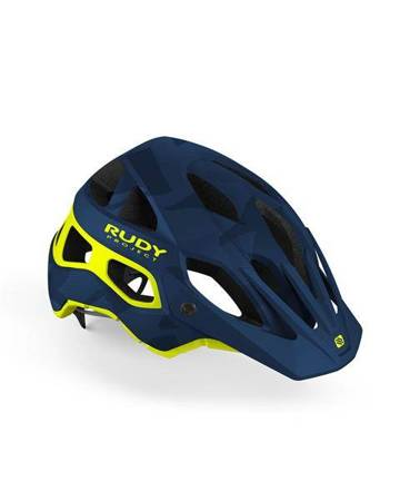 Kask Rudy Project PROTERA BLUE CAMO - YELLOW FLUO (MATTE)