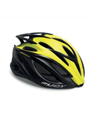Kask Rudy Project RACEMASTER YELLOW FLUO - BLACK (MATTE) [R: XS 51-55]