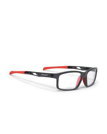 Okulary Rudy Project INTUITION DEMO LENSES B CRYSTAL GRAPH/ RED FLUO 56/35