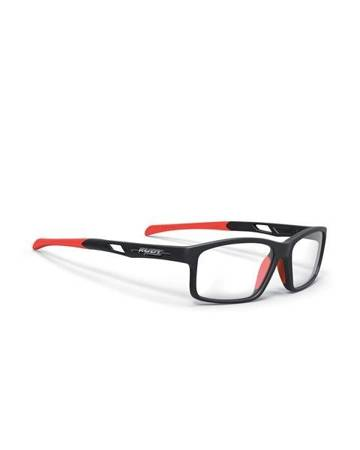 Okulary Rudy Project INTUITION DEMO LENSES B MATTE BLACK/ RED FLUO 56/35