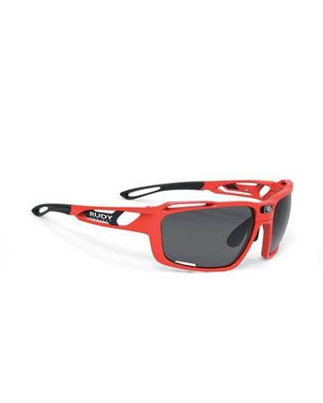 Okulary Rudy Project SINTRYX FIRE RED GLOSS - SMOKE BLACK/TRANSPARENT