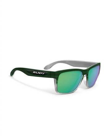 Okulary Rudy Project SPINHAWK GREEN STREAKED MATTE - POLAR 3FX HDR MULTILASER GREEN