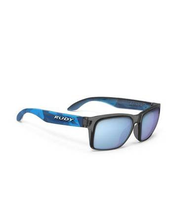 Okulary Rudy Project SPINHAWK SLIM NEO CAMO CRYSTAL BLUE - MULTILASER ICE